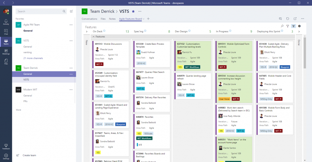 Microsoft-Teams-Visual-Studio-Agile