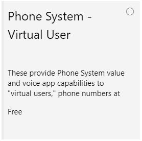 Add a free licence to Call Queues and Auto Attendants (Microsoft